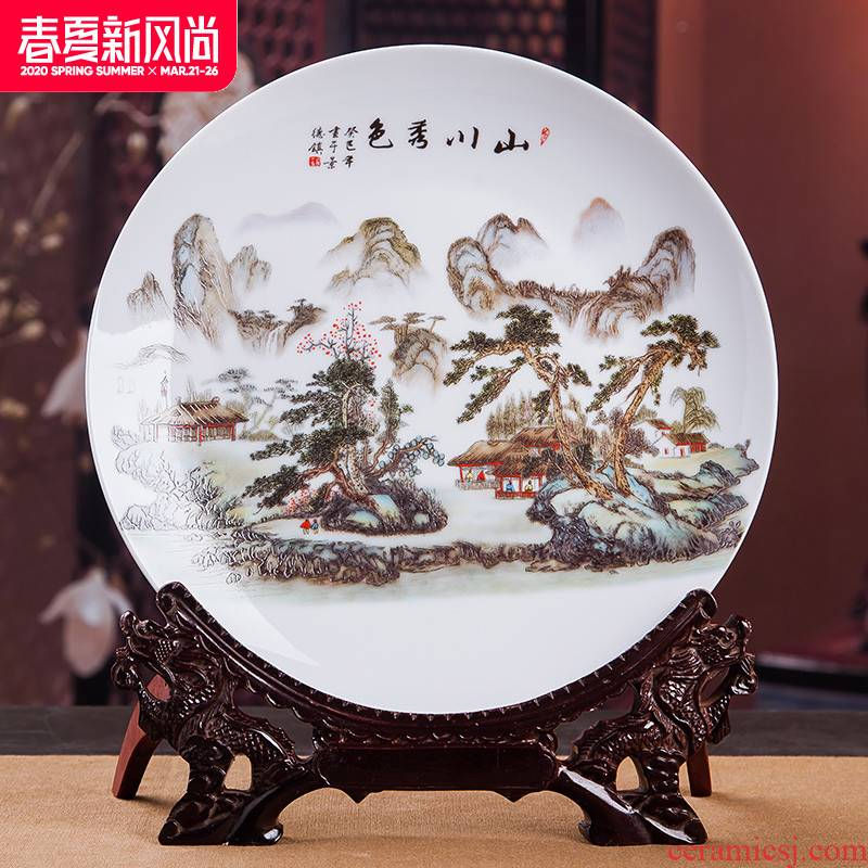 Jingdezhen ceramics wine ark, adornment is placed small place office handicraft decoration household act the role ofing is tasted, the living room