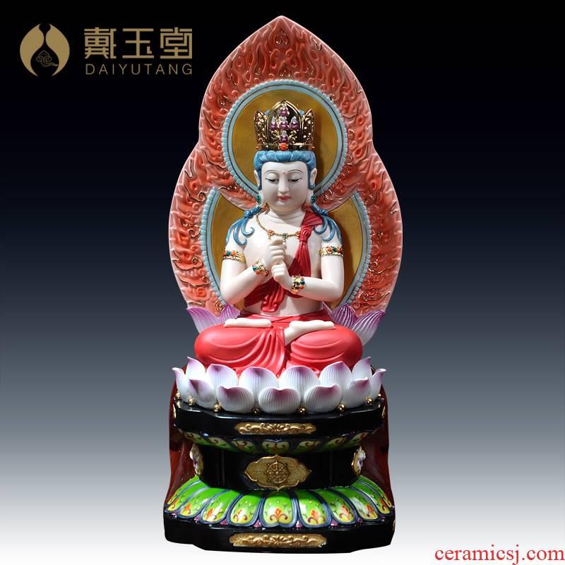 Yutang dai furnishing articles dehua white porcelain ceramic figure of Buddha its/Buddha great day which the Lou covering the Buddha D21-41