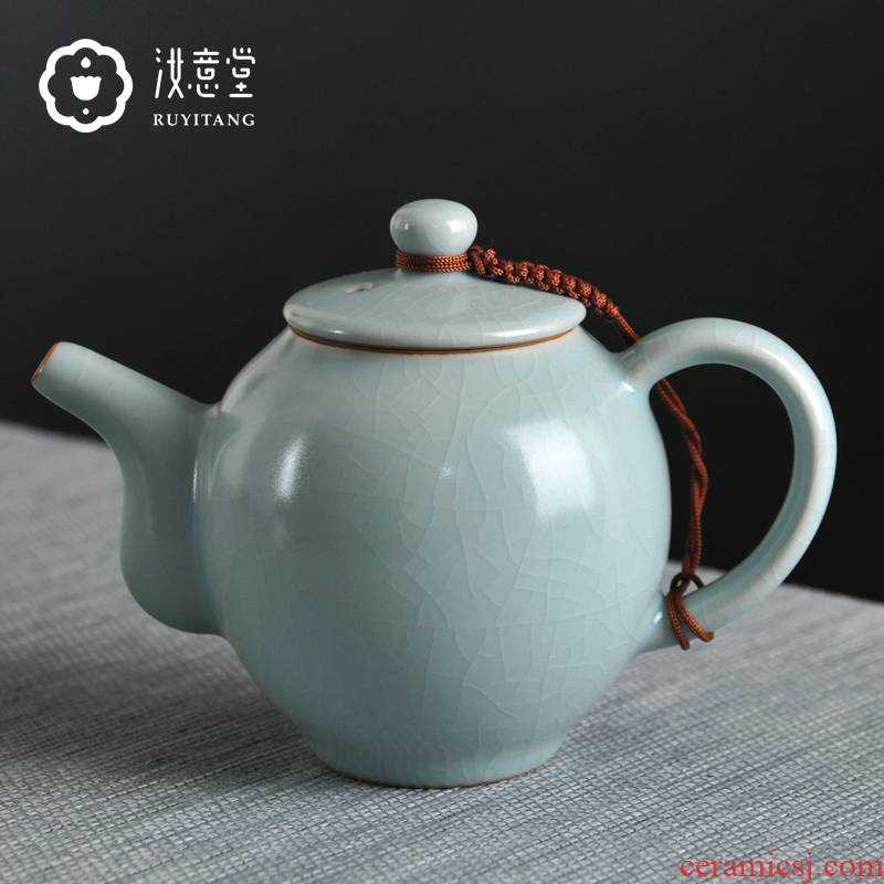 Archaize your up teapot kung fu tea set ceramic teapot herself single pot pot of your porcelain home office of origin