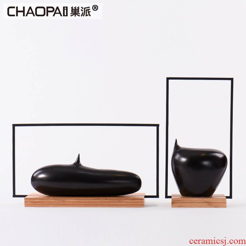 New classic ceramic handicrafts minimalist solid geometry center soft outfit project is between example study furnishing articles