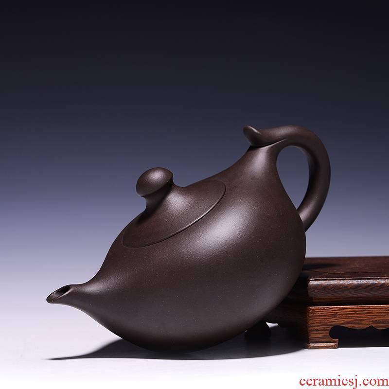 It all hand purple clay gift undressed ore famous kungfu tea tea classic lamp teapot