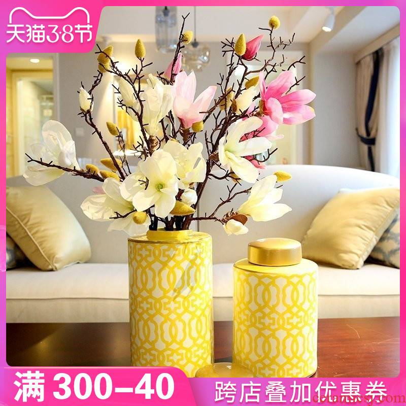 New Chinese style between example ceramic vases, table decorations TV ark place to live in the sitting room porch desktop decoration