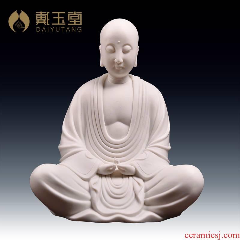 Yutang dai earth treasure bodhisattva figure of Buddha enshrined household furnishing articles ceramics handicraft/meditation hid in perhaps a - 18