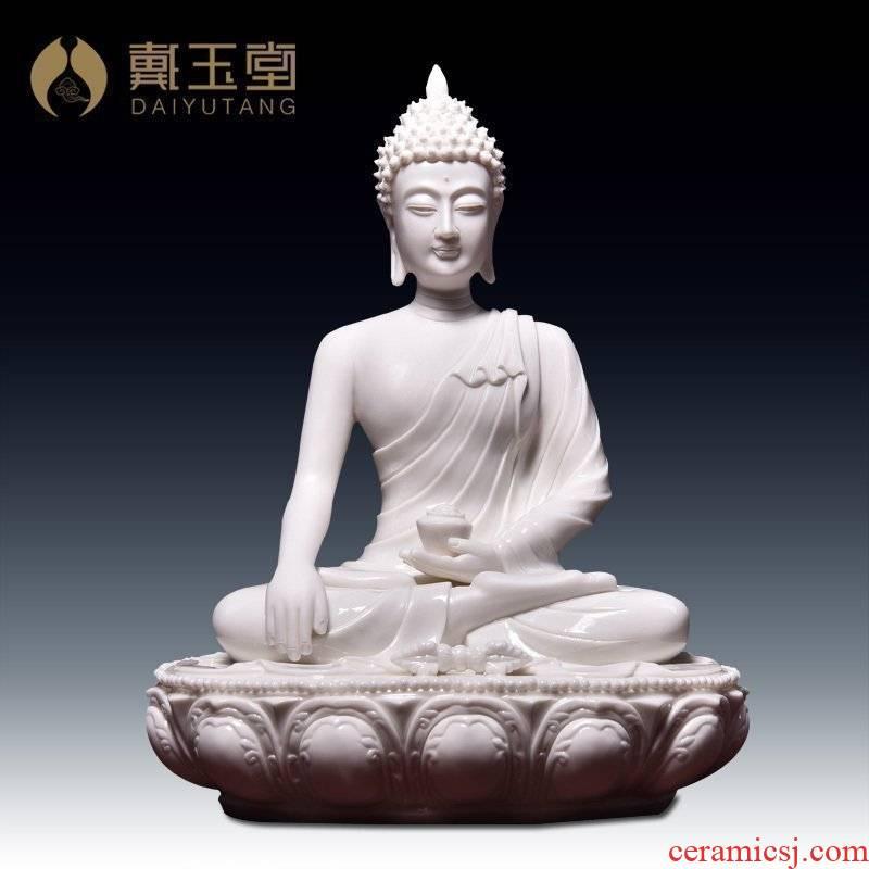 Yutang dai ceramic Buddha furnishing articles shakyamuni Buddha vajra consecrate/sect D19 buddhist images - 68