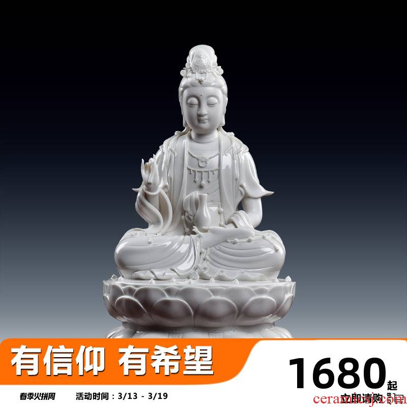 Yutang dai household ceramics of Buddha enshrined 13 inches who furnishing articles D27 guanyin bodhisattva decorations - 110