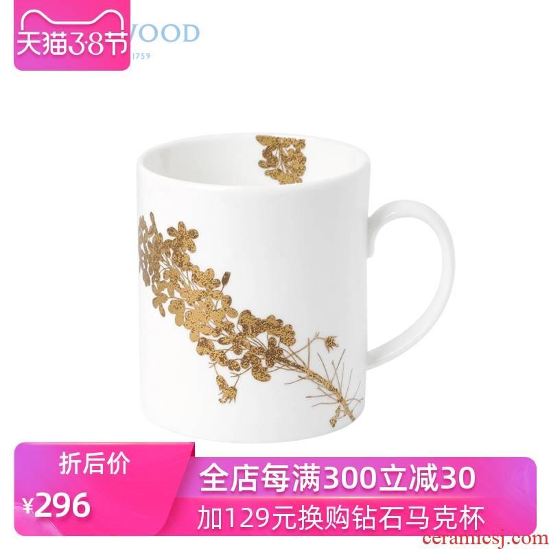 WEDGWOOD waterford WEDGWOOD Vera Wang Vera Wang gold yellow ipads China mugs household water bottle