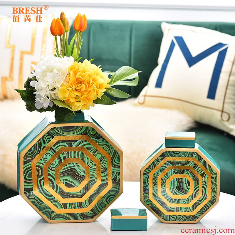 Modern light between key-2 luxury American example ceramic vase decoration place to live in the sitting room the bedroom decorate bottles of a new gift