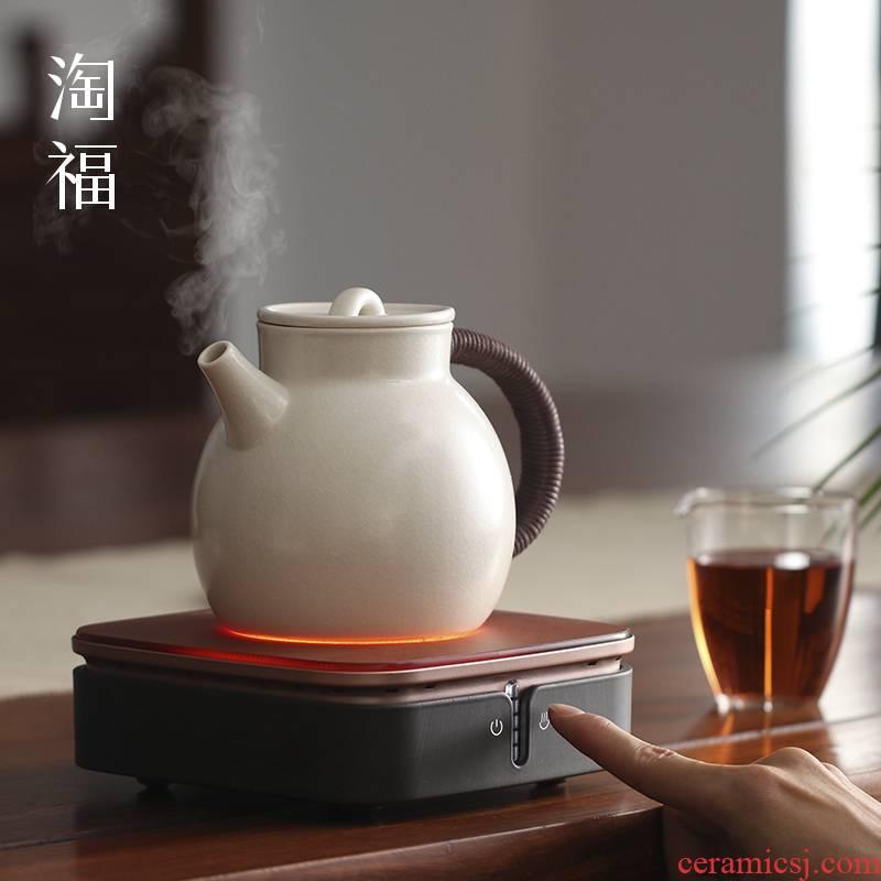Burn electric TaoLu boiled tea, tea tea domestic glass ceramic pot to boil tea stove automatic kung fu tea set