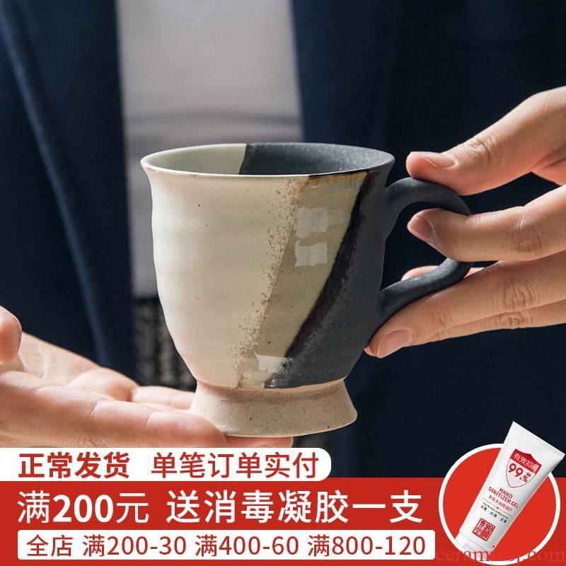 Jian Lin, Japanese ceramics tableware deoxidizedblaze mark a cup of coffee cup with restoring ancient ways the asakusa glass cup
