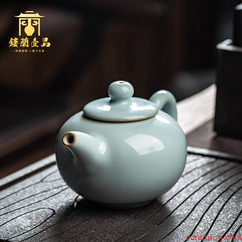 All hand copy your up jingdezhen ceramics slicing YunXiu xi shi pot of your porcelain kunfu tea, small single pot teapot