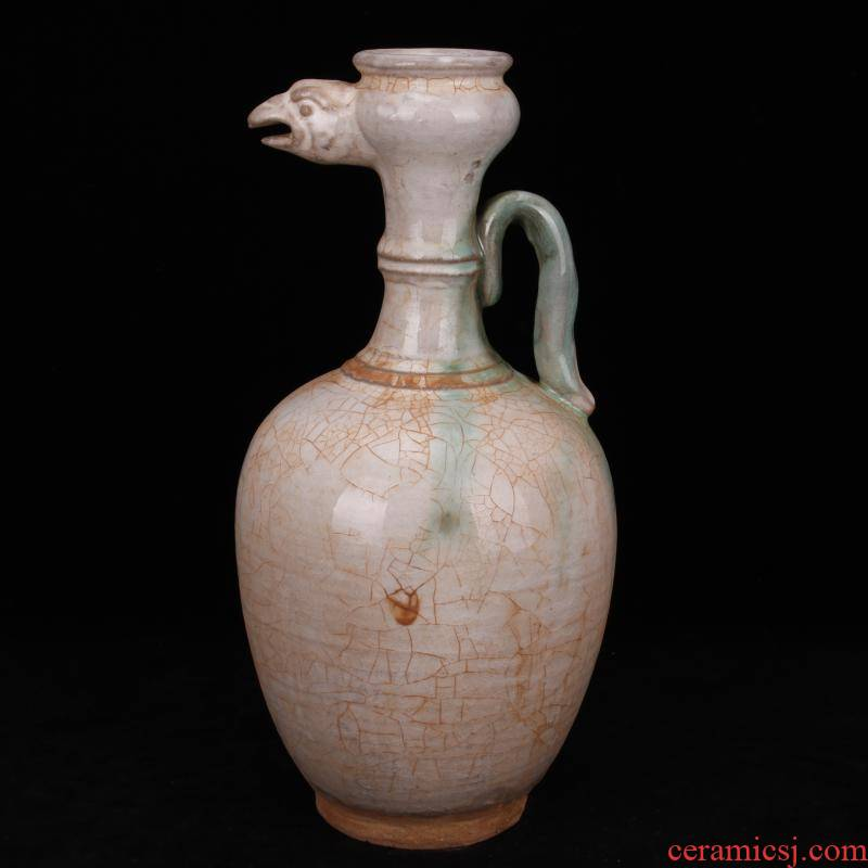 Jingdezhen imitation antique masterpieces in tang dynasty unearthed cultural relics antique crested ewer folk to collect old antique furnishing articles