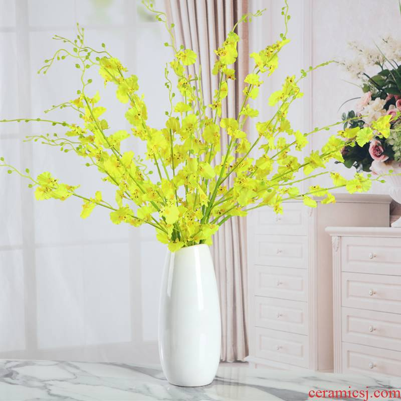 I and contracted sitting room creative flower arranging furnishing articles home decoration floor ceramic dry flower vases, flower art crafts
