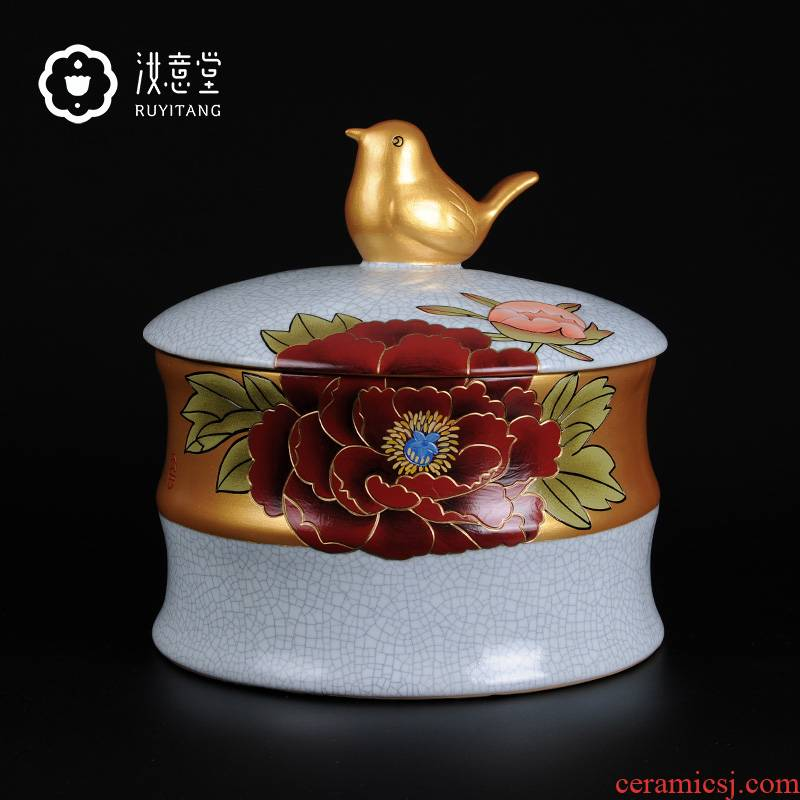 Creative storage tank your up ceramics handicraft home decoration porcelain jar your POTS classical Chinese characteristics gifts