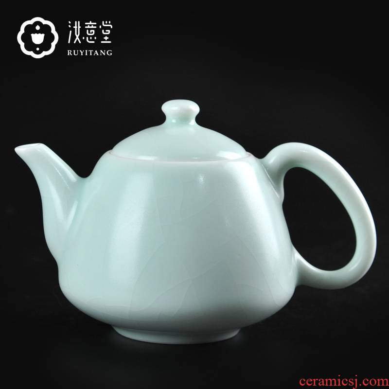 Kung fu tea set your porcelain ceramic teapot your up single pot teapot small pure manual open piece of tea taking for its ehrs home