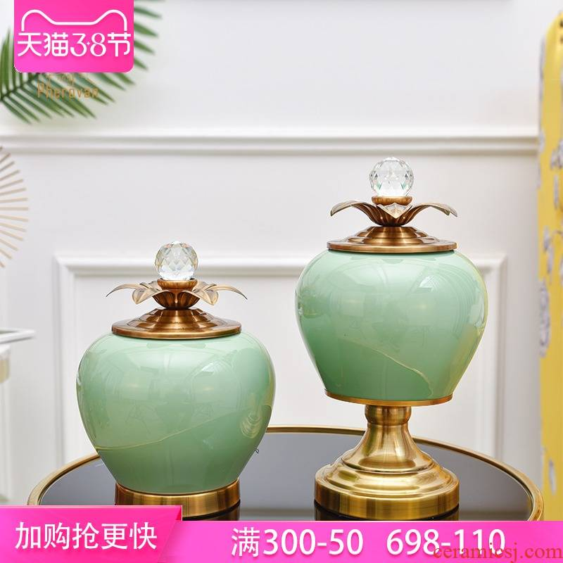 Light much storage tank ceramic furnishing articles furnishing articles suit creative home vase example room porch ceramic arts and crafts
