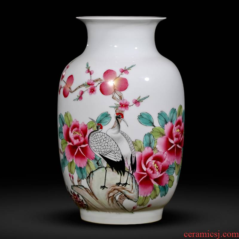 The Master of jingdezhen ceramics hand - made vases pastel idea gourd wine bottle of new Chinese style of the sitting room porch place gifts