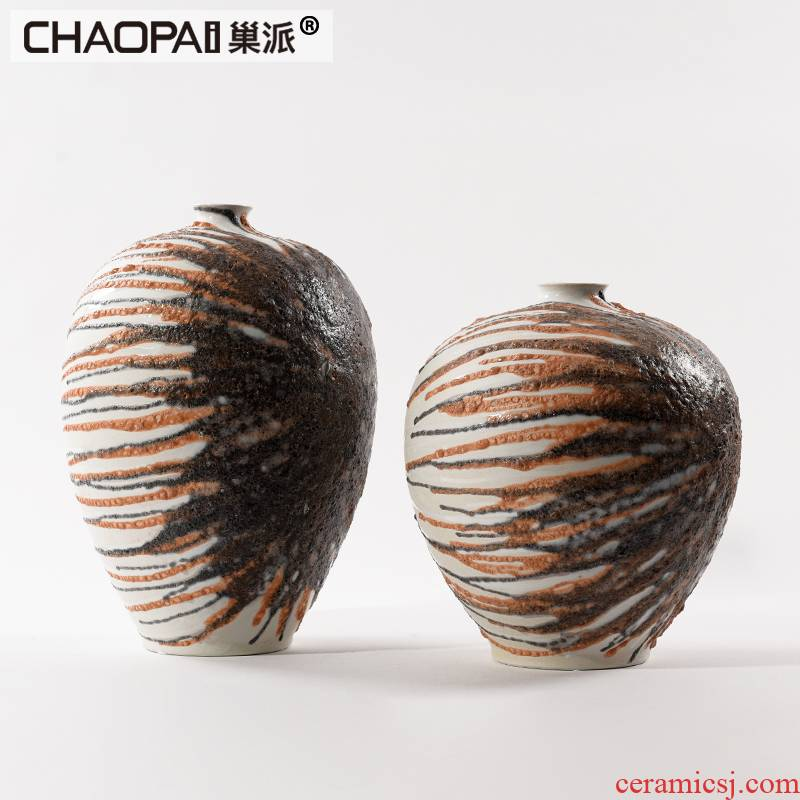 Nest to the send the new creative move checking ceramic pot furnishing articles shop window display column furniture city furniture
