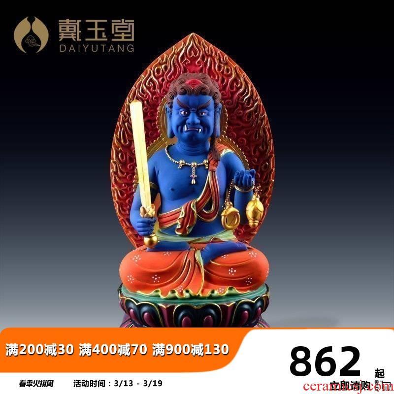 Yutang dai ceramic motionless statute like this life Buddha bodhisattva rooster king Ming Buddha worship Buddha that occupy the home furnishing articles
