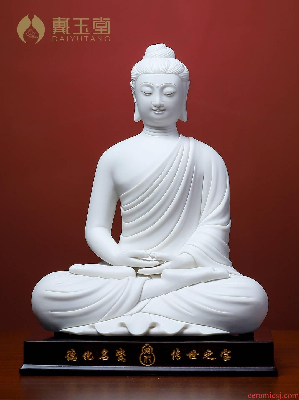 Yutang dai ceramic sakyamuni Buddha Buddha great day to the sitting room art craft adornment that occupy the home furnishing articles