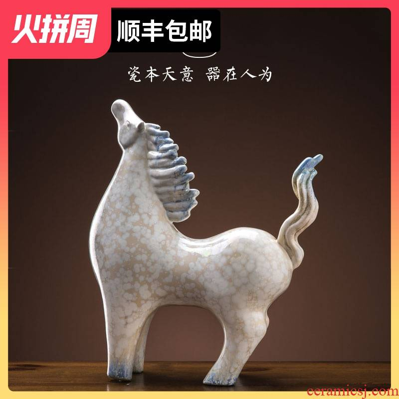 The Success of jingdezhen ceramic furnishing articles home office desktop adornment its creative process