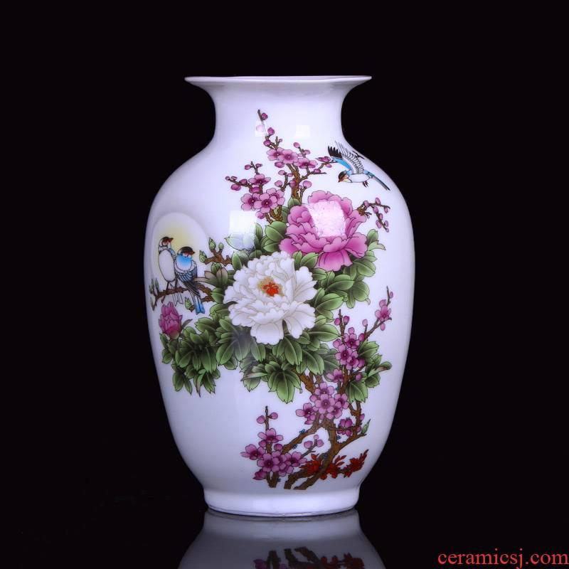 Jingdezhen ceramic vases, home furnishing articles home sitting room place crafts flower vases sitting room dining - room furnishing articles