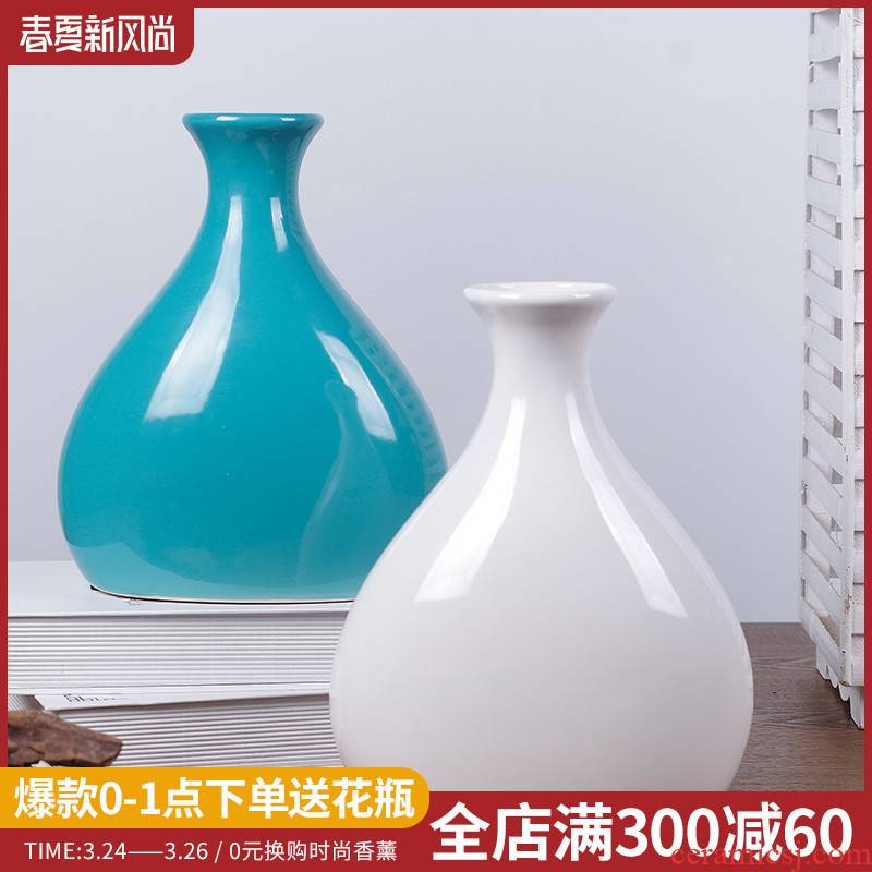 New Chinese style classical lucky fruit vase household act the role ofing is tasted decorate furnishing articles sitting room porch study ceramic vases, flower implement
