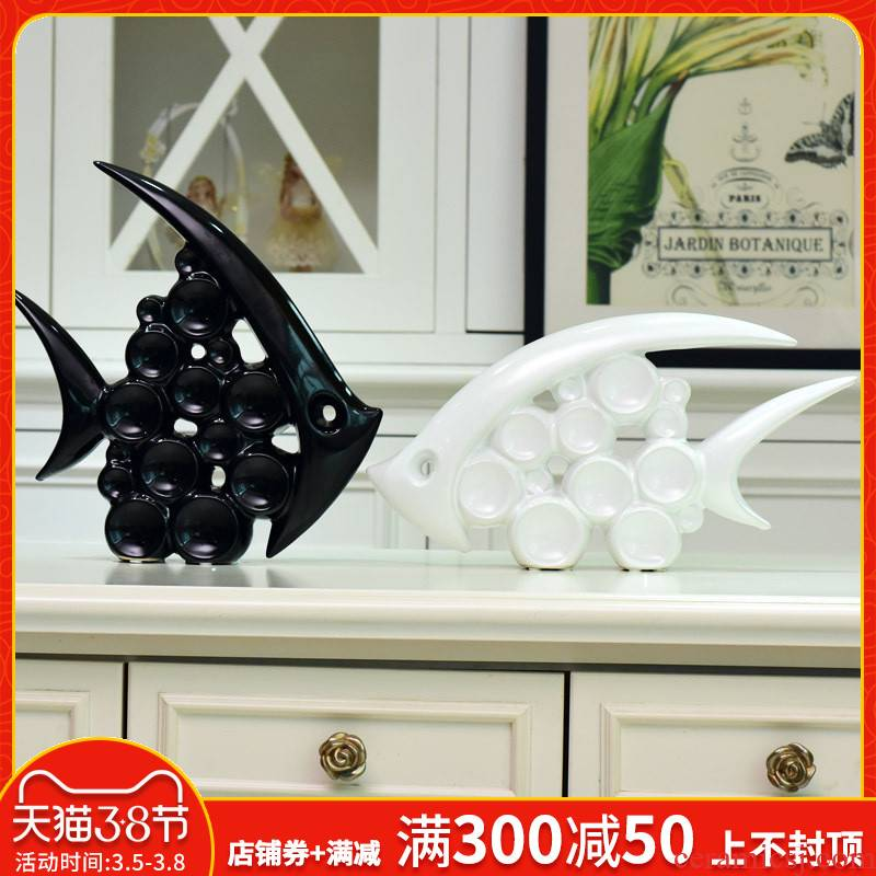 The New household act the role ofing is tasted furnishing articles wine TV ark, sitting room adornment ceramics large animal decoration wedding gift