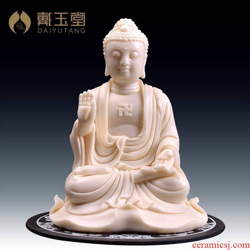 Yutang dai ceramic arts and crafts master of furnishing articles province Lin Jiansheng works/bodhi leaf tathagata D03-021
