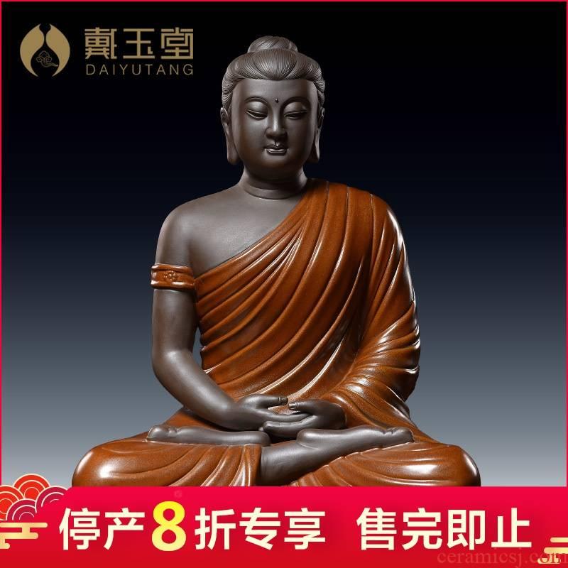 Ceramic production is pulled from the shelves 】 【 tathagata household consecrate Buddha furnishing articles/shakyamuni Buddha