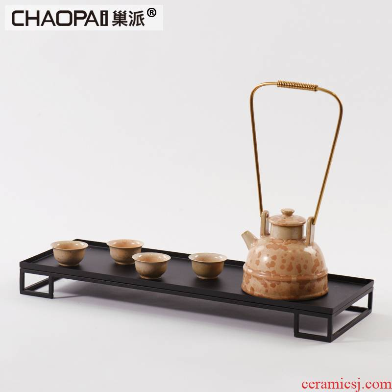 Chinese ceramic teapot suit furnishing articles between example teahouse study zen tea arts and crafts office decoration