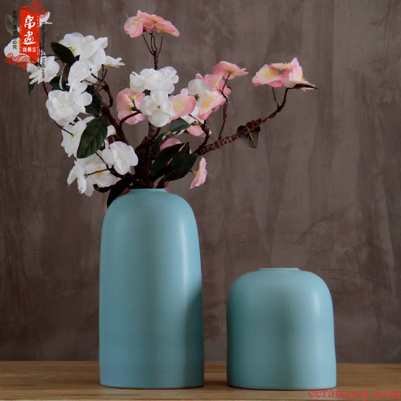 Chinese pottery and porcelain table dry flower receptacle furnishing articles rich ancient frame flower arranging I and contracted sitting room creative home decorations