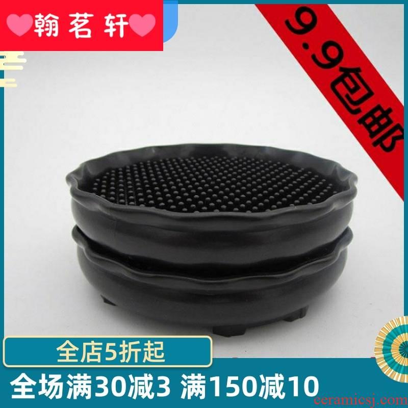 Tea taking parts are it a pot pad plastic jugs chock pot pot bearing base cup mat the teapot