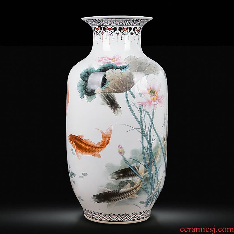 Jingdezhen ceramics from year to year more than 300 large vases, flower arranging, home sitting room adornment hotel furnishing articles