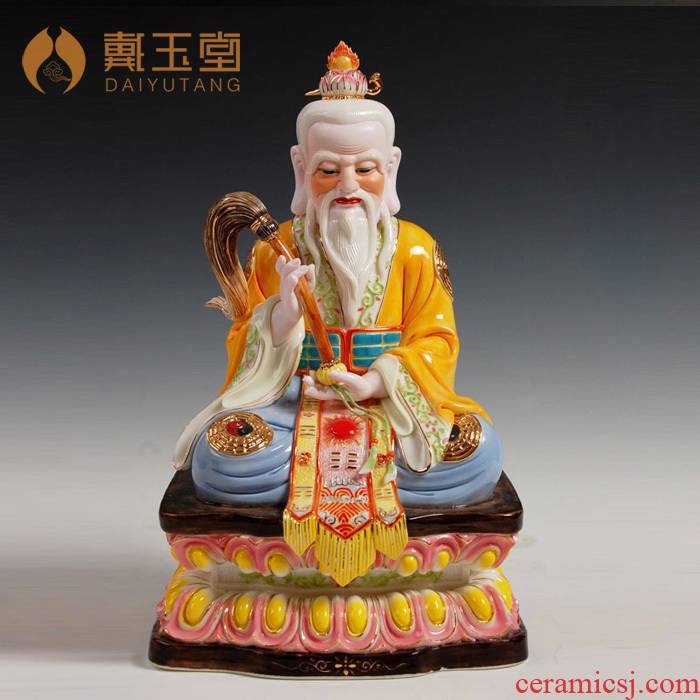 Yutang dai 15 inches too old gentleman on gods enshrined household ceramics Taoist ethics Buddha tao tao jun furnishing articles