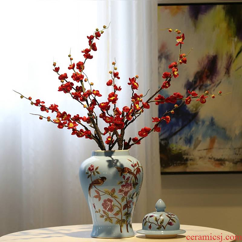 New Chinese style table between creative vase example club general decorative flower tea pot flower implement ceramic furnishing articles