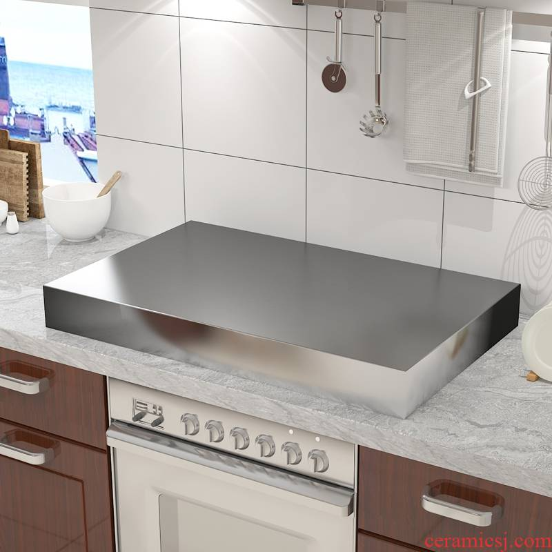 Induction cooker stainless steel shelf bracket sets of kitchen'm gas gas kitchen hearth plate frame base