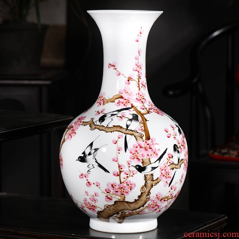 The Master of jingdezhen ceramics beaming big hand - made vases, flower arranging furnishing articles sitting room decoration home decoration