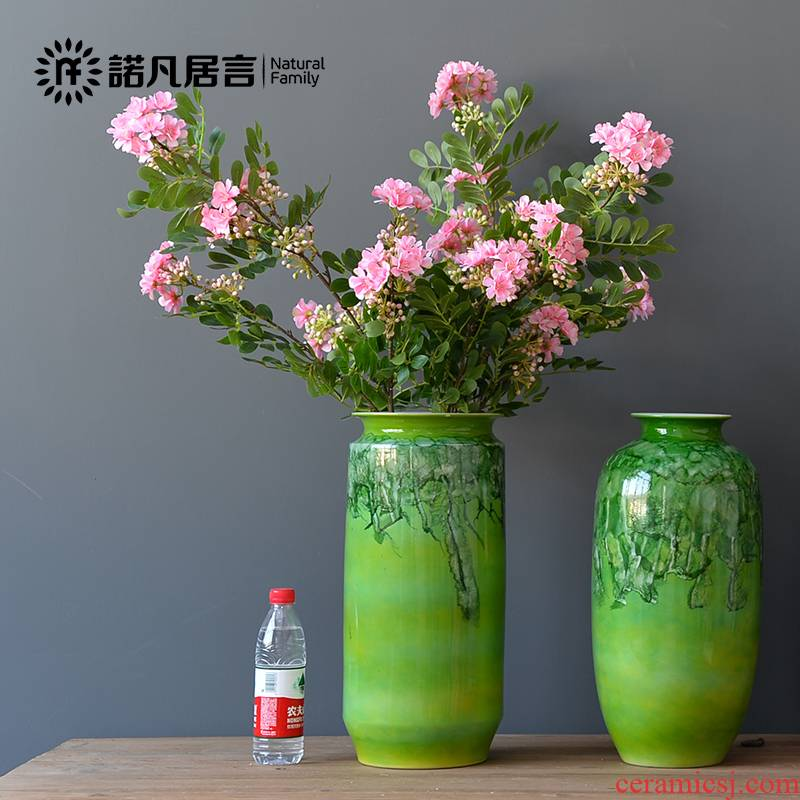Mesa of ceramic vase retro nostalgia dried flower arranging flowers furnishing articles sitting room adornment that occupy the home TV ark decoration ideas