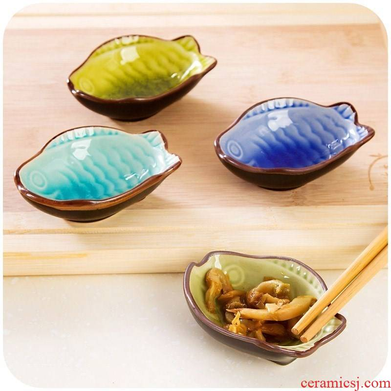 The Spice modelling vinegar dish household leaves little flavor dishes that occupy the home ceramic dip home restaurant kitchen small butterfly pickle