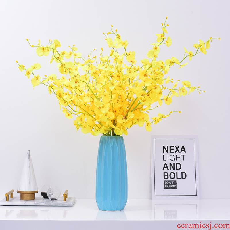 I and contracted ceramic vase furnishing articles home sitting room flower vase TV ark adornment bedroom dry flower vase