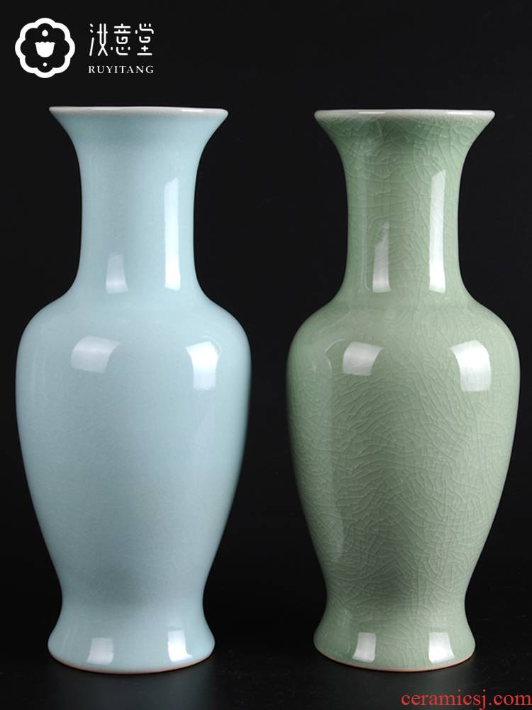 Antique Chinese style restoring ancient ways is contracted household act the role ofing is tasted your up vase classical style porcelain decoration in the sitting room adornment is placed