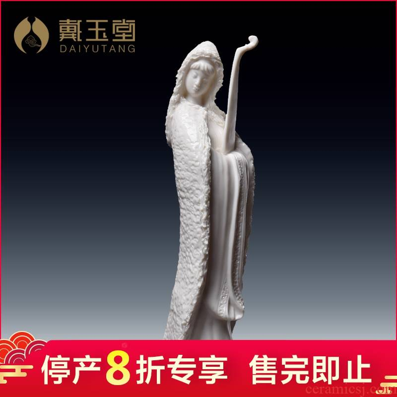 Ceramic production is pulled from the shelves 】 【 Su Xianzhong art furnishing articles zhaojun fill the master