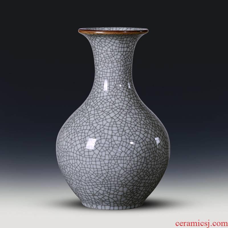 Jingdezhen porcelain antique vases, ceramic flower arranging home furnishing articles, the sitting room porch ark adornment porcelain restoring ancient ways