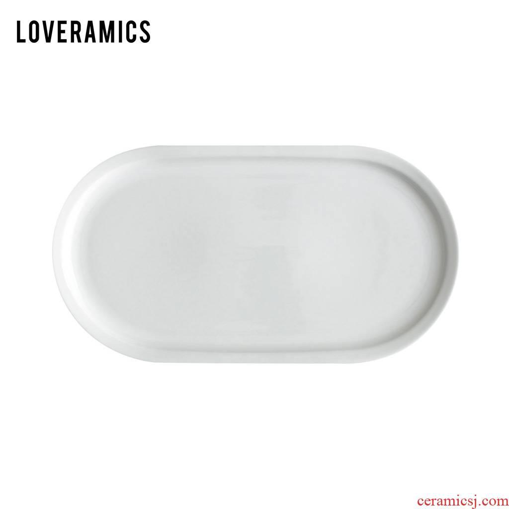 Loveramics love Mrs Er - go! Fashion 37 cm series fish plate (white)