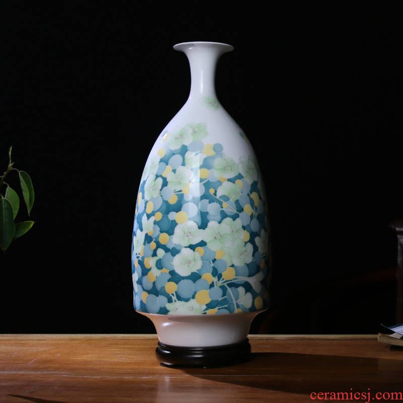 Under the liling glaze porcelain good remit colorful ceramics ceramic vase household decorates sitting room place hand draw the star of the sea