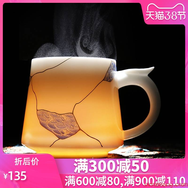 St collectors with ceramic individual drinking cups belt filter tank tea cup see colour tea cup Z office meeting