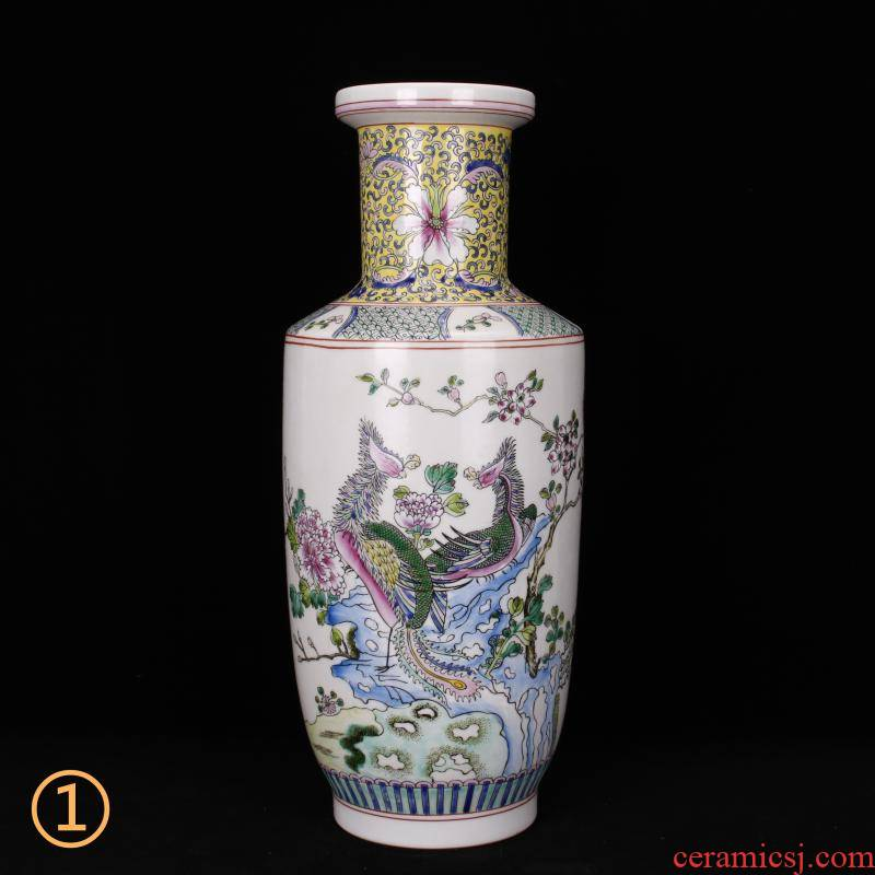 Jingdezhen imitation of the qing dynasty antique vases home furnishing articles of handicraft Chinese style restoring ancient ways furnishing articles for the collection