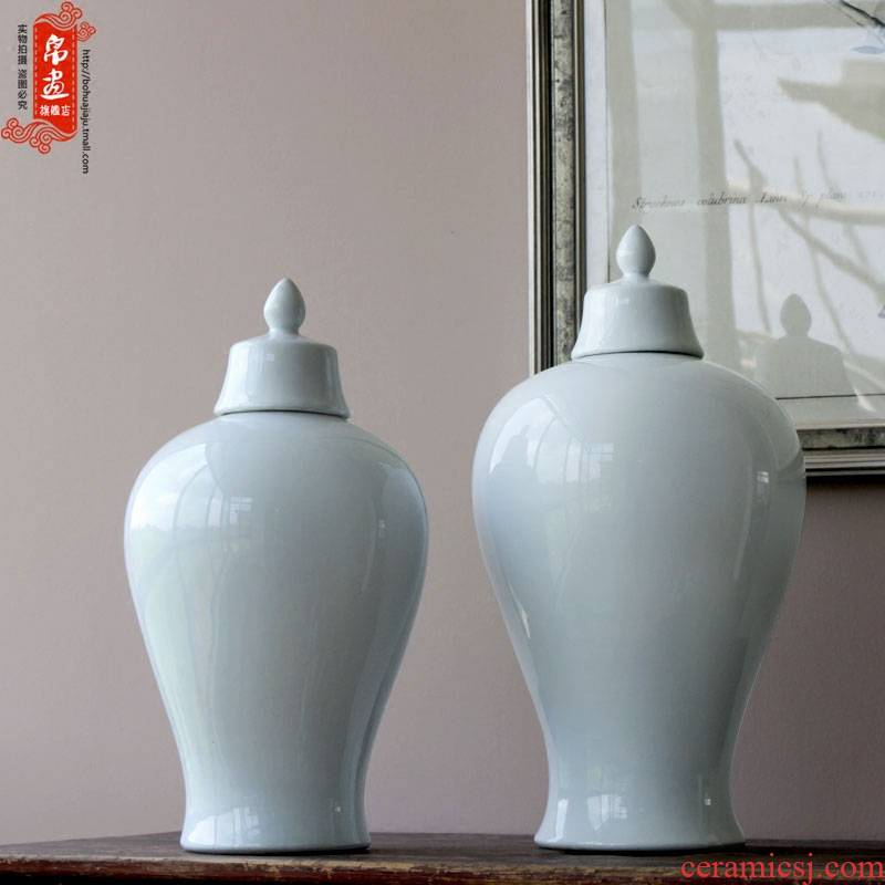 Booking with jingdezhen ceramic Bai Semei bottles furnishing articles sitting room porch decoration flower ornament porcelain