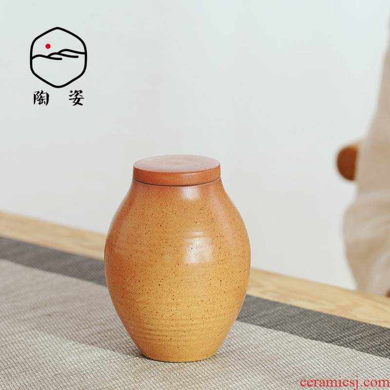 TaoZi ceramic tea pot points receives Japanese tea POTS ceramics coarse pottery clay by hand before'm