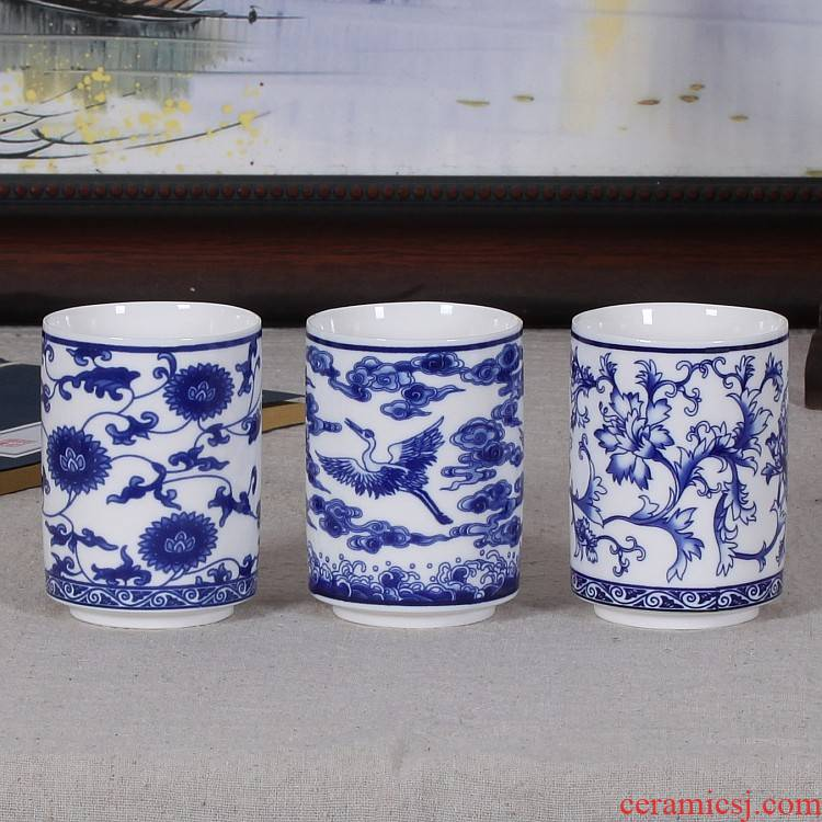 Jingdezhen ceramic cups ipads China porcelain ceramic cups cold teapot form a complete set of tea cups